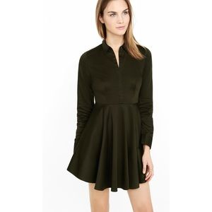 Express - shirt dress with full circle skirt